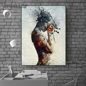 Modern Creative Canvas Paintin