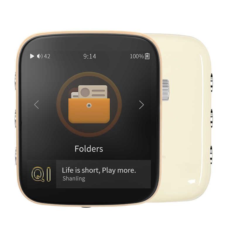 Shanling Q1 ESS saber ES9218P DAC przenośny odtwarzacz muzyczny hi-res HIFI DAP MP3 z aptX Bluetooth funkcje do biegania sport