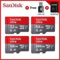 Cartão do sd do flash da carte sdxc sdhc do cartão do sd da classe a1 10 cartão micro sd 128 gb 64 gb 32 gb 16 gb|Cartões de memória| |  -