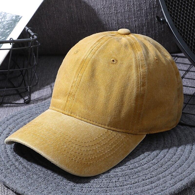 Women's Cap Men's Caps Dad Hat 2021 High-end Fashion Wholesale Solid Unisex Outdoor Custom Black Cotton Bone Sports Woman