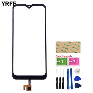 6.1'' Phone Touch Screen Glass For Leagoo M13 Touch Screen Front Glass Digitizer Panel Lens Sensor Tools Adhesive Wipes