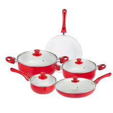 Stylish kitchen no oil smoke non-stick frying pan frying pan soup pot aluminum compound bottom set gift pot stylish kitchen no oil smoke non stick frying pan frying pan soup pot aluminum compound bottom set gift pot