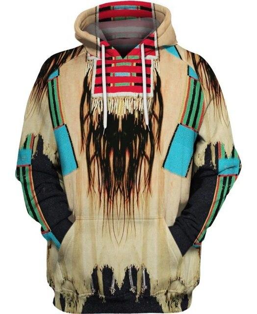 hot sale Native Indian 3D Hoodies/sweatshirts Men Women New Fashion Hooded winter Autumn Long Sleeve streetwear Pullover-10 2