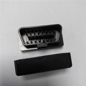 Image 2 - Coque noire pour ELM327, 10 pièces, prise OBD2/OBDII, ELM 327, étui uniquement, livraison gratuite