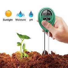 цена на 3 In 1 Soil Moisture Water Ph Meter Digital Tester Analyzer Garden Plant Flower Hydroponics Tool Detector