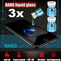 Nano Liquid pellicola salvaschermo pellicola antigraffio oleorepellente pellicola protettiva per vetri con rivestimento curvo per iPhone Xiaomi universali