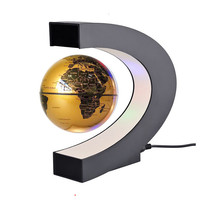 2019 New LED Magnetic Globe World Map Floating Table Night Light maglev Desk Lamp For Birthday Gift Home Decoration