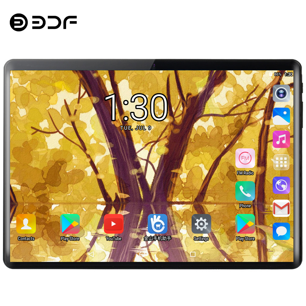 BDF Pc Tablet Phone-Wifi Bluetooth Quad-Core Android-7.0 Dual New 3G 32GB 1GB 1GB-RAM title=