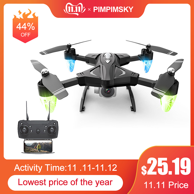 RC Drones With Camera HD 480P 1080P Folding Aerial Helicopter Long-Range Wifi Four-Axis Aircraft 0.3MP 5MP Quadcopter Toys