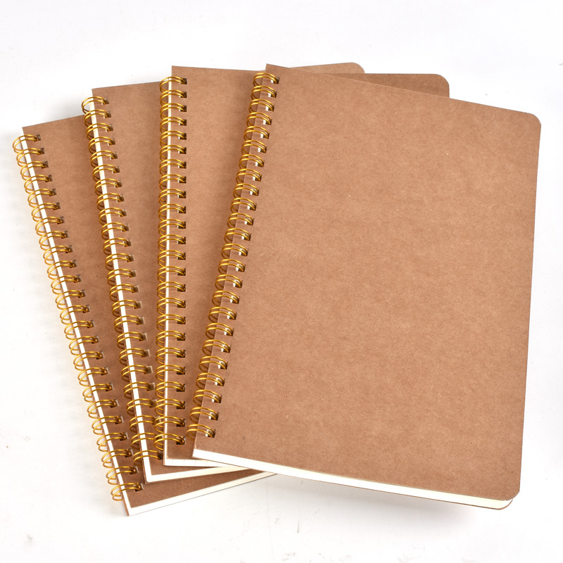 A5 Schedule Books Stationery Point Grid Coil Love Binding Notebook Plan Hardcover Diary Eye Protection School Office Manuscript image