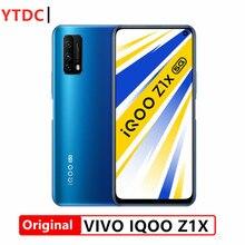 Original novo vivo iqoo z1x 5g telefone inteligente 6.57 Polegada 120hz tela 5000mah bateria 33w super vooc telefone celular