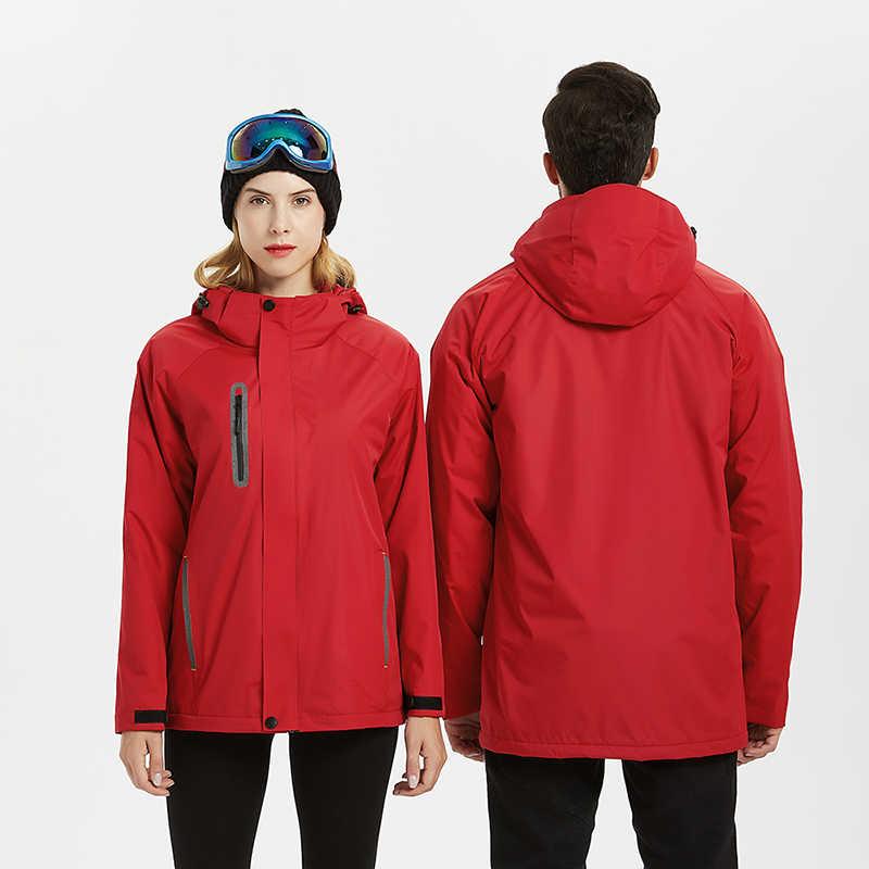 Niestandardowe drukowanie Logo jesienno-zimowa kurtka typu softshell odzież sportowa na zewnątrz mężczyźni turystyka Camping narciarstwo Trekking męskie kurtki damskie