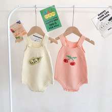 Knitting Baby Romper Fruit Newborn Baby Clothes