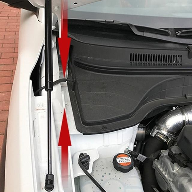 Car Styling 2PCS Hood Cover Hydraulic Rod Strut Rod Telescopic Rod Engine Cover Support for Hyundai Kona 2017-2019 6