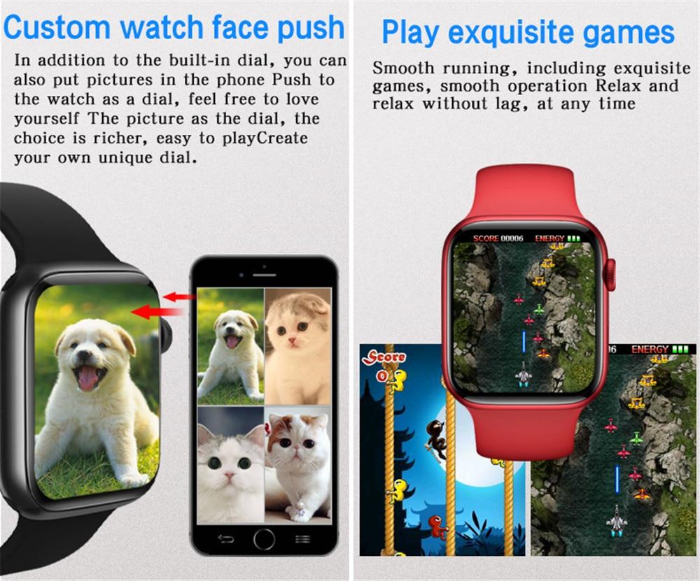 H2724263cb68541fb86cdaba525257f1f8 2021 HW22pro Smart Watch Men Women Split Screen Display Original Smartwatch Body Temperature Monitor BT Call For Android IOS IWO