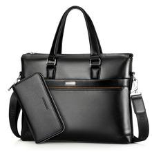 Znane marki mężczyźni teczki PU skórzane teczki na laptopa torba męska biznesowe torby na ramię torby męskie wysokiej jakości torebka WBS503-3 tanie tanio Pu Leather NONE Single zipper Na co dzień Wnętrze slot kieszeń Kieszeń na telefon komórkowy Wewnętrzna kieszeń Wnętrza przedziału
