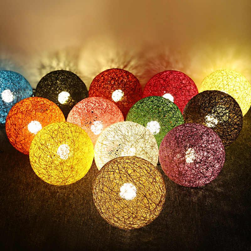 Hanf Ball Led Anhänger Lichter Moderne Hängende Lampe Loft Nordic Anhänger Lampe Küche Urlaub Party Geburtstag Weihnachten Dekorationen