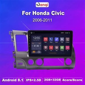 2G RAM 32G ROM 10.1inch Car Audio Player For Honda civic 2004-2011 stereo gps navigation system