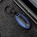 2019 ABS PC углеродное волокно силикагель чехол для ключей полный круг для Nissan Infiniti QX50 Q50L Q60 Q70 QX6 материал для долговечности