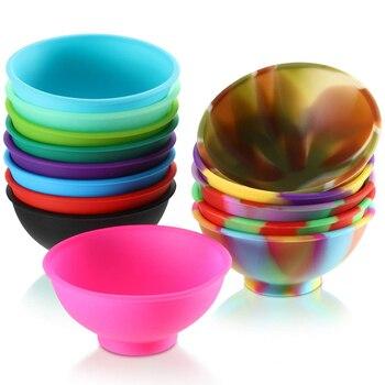 14Pcs/Set Mini Silicone Pinch Bowls Soft Flexible Baby Feeding Bowl Kitchen Supplies mini bowl
