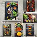 Картина на холсте «растительные зерна» для кухни
