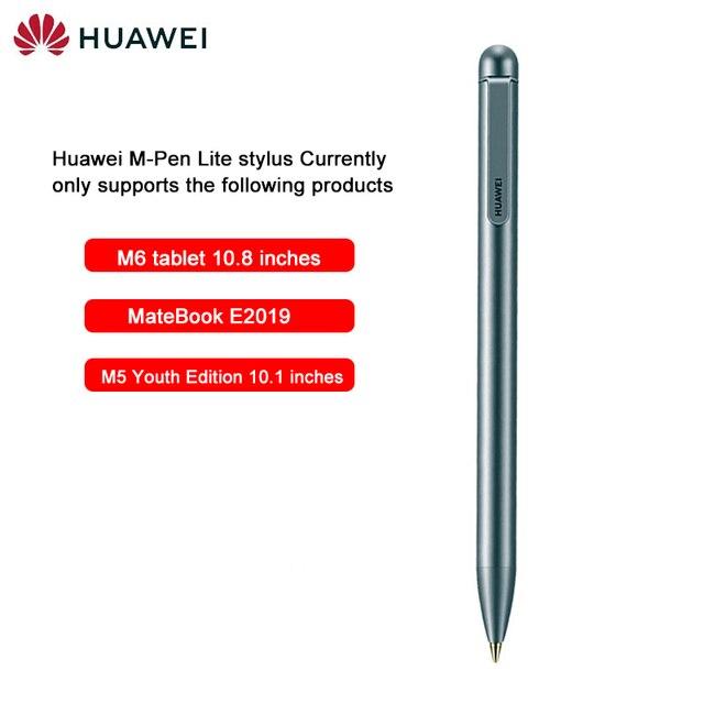 Nowy oryginalny Huawei Stylus m-pen lite dla Huawei Mediapad M5 lite M6 pojemnościowy długopis rysik M5 lite dotykowy długopis Matebook E