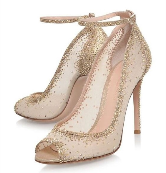 Extremely Stunning Pumps Wedding