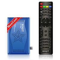 Meecast-receptor de televisión por satélite m3u, decodificador DVB S2 con Mirror Cast inteligente, buscador de receptores de satélite gratis por internet, servidor Koqit