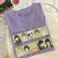 2019 Summer Women's Fashion Large Size Casual Harajuku T Shirt Girl Kawaii Print Cartoon Short Sleeve Funny T Shirt