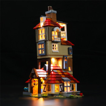 Light Set For Attack On The Burrow Building Blocks Model - USB Led Light Kit Compatible With 75980 (NOT Included The Model) image