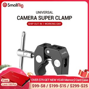 """Image 1 - SmallRig Super abrazadera con rosca de 1/4 """"y 3/8"""" para cámaras, luces, paraguas, ganchos, estantes, vidrio de placa, barras cruzadas, etc   735"""