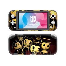 Bendy i urządzenie atramentowe skórka naklejka naklejka na Nintendo Switch Lite konsola Protector Joy con przełącznik do Nintendo Lite skórka naklejka