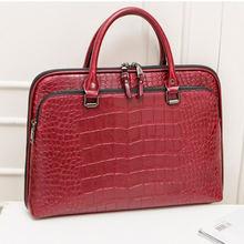 Модный женский кожаный портфель для ноутбука 133 дюйма 141 сумка