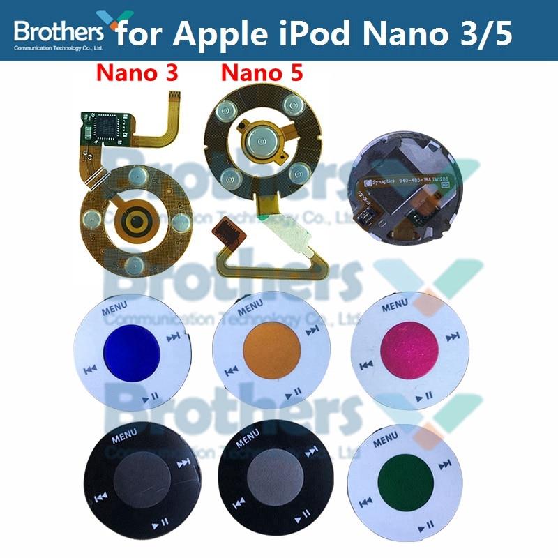 For Apple IPod Nano 5 Click Wheel Flex Cable Nano 3 Headphone Jack Flex Cable For IPod Nano 5 Central Button Flex Cable Test Top