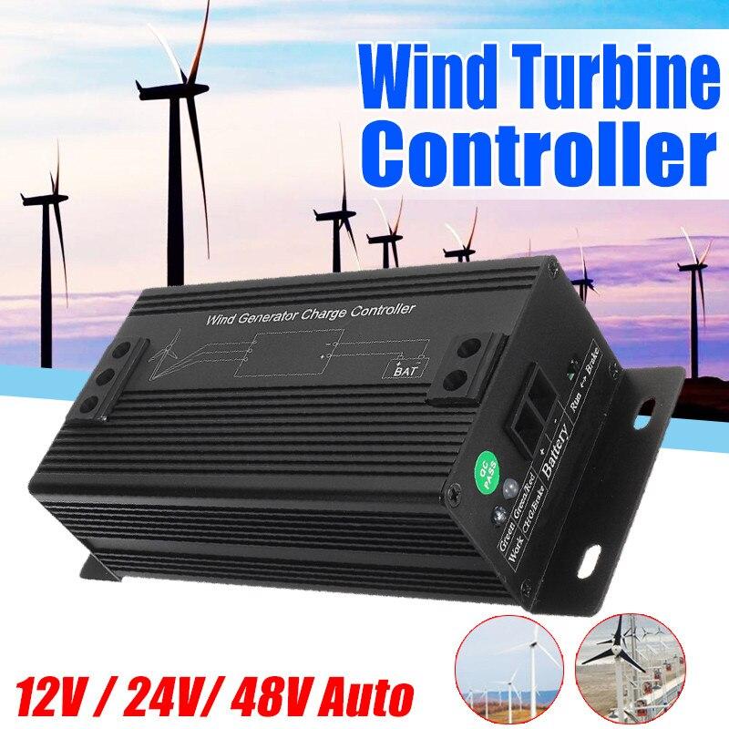 Générateur de vent extérieur de régulateur de Charge de générateur de Turbines éoliennes imperméables du rendement élevé 12 V/24 V/48 V