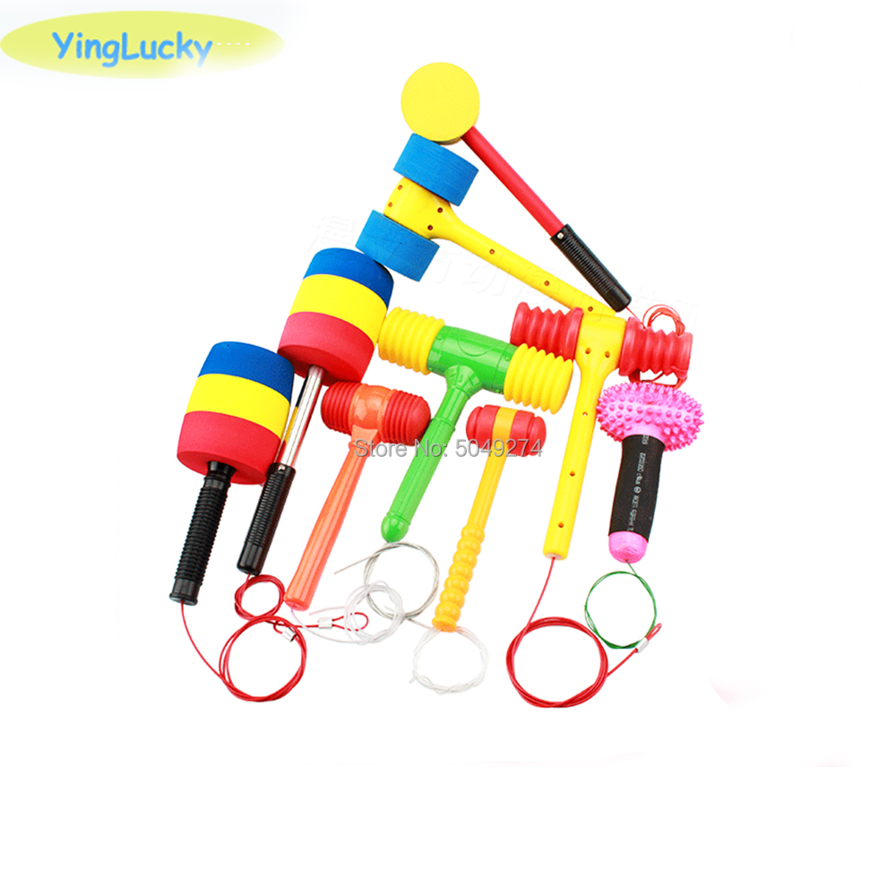Multi Color Sponge Hammer For Children's Game Machine Parts /Hamster/Cockroach Hitting /Arcade Game Machine Parts Accessories