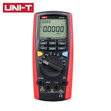 Multimètre numérique intelligent de taille moyenne, rétro-éclairage LCD, Modes MAX/MIN/REL, AC/DC, UT71A/UT71B/UT71C/UT71D/UT71E, UNI-T