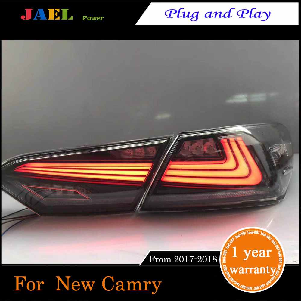 JAEL New Taillight Case For Camry 2017 2018 Taillight Tail Lamp Rear Lamp High Quality