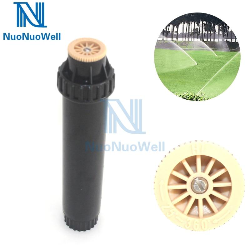 Pack 8 1//2inch Heavy Duty Plastic Impact Head Sprinkler 25-360 Degree