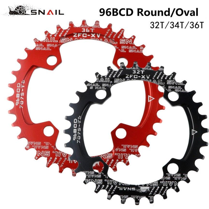 DECKAS 32T Narrow Wide Round Chainring Chain Ring BCD 104mm MTB Mountain Bike