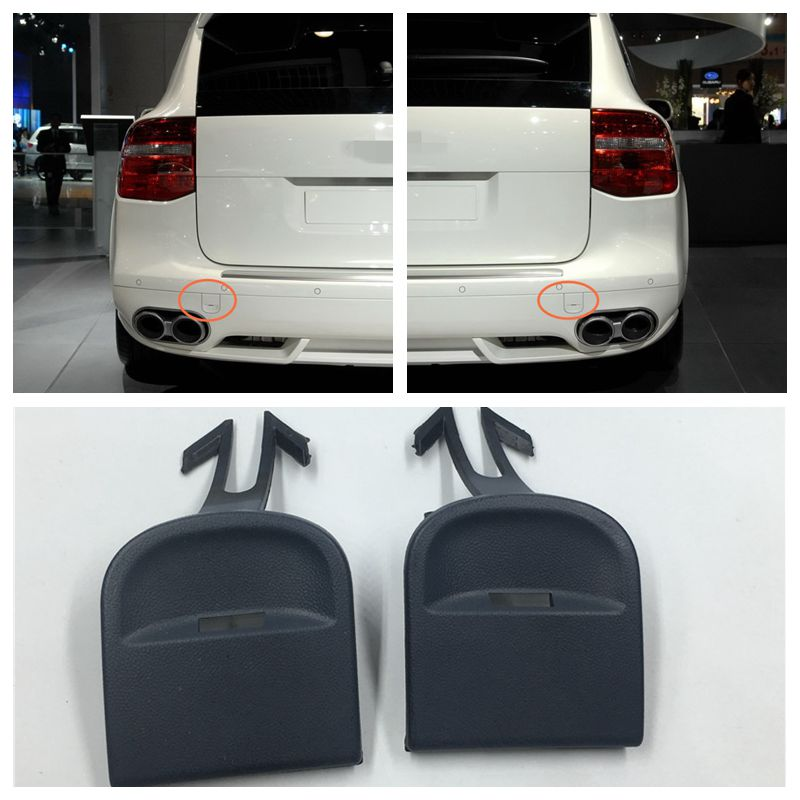 Rear Left Bumper Tow Hook Eye Cover Cap Fit For Porsche Cayenne 2008-2010