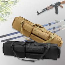 M249ไนลอนปืนไรเฟิลปืนพกพายุทธวิธีทหารยิงAirsoft Rifleปืนขนาดใหญ่โหลดปืนกระเป๋าไหล่กระเป๋า