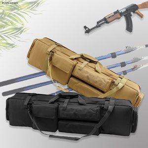 Image 1 - M249 Nylon Rifle Gun Carry Case Tactical Military Shooting Airsoft Rifle Gun Holster Large Loading Gun Bag Shoulder Bag