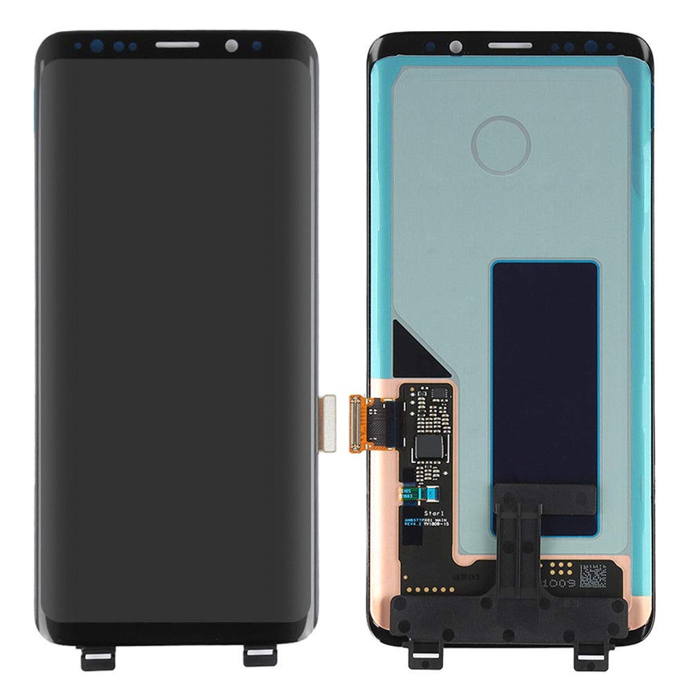 Original Super <font><b>Amoled</b></font> LCD For <font><b>Samsung</b></font> Galaxy <font><b>S9</b></font> G960F G960 Lcd Display Touch <font><b>Screen</b></font> Digitizer defect With Dead Spot Dot point image