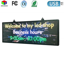 Sign Message-Display-Board Store-Wall Scrolling Windows P5 Full-Color LED Moving RGB