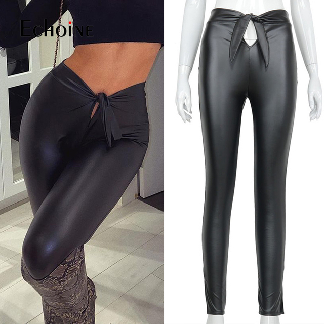 PU Leather Fashion Leggings 2