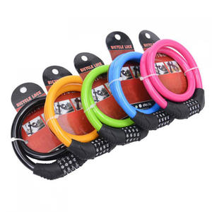 Bicycle-Equipment Color-Lock Anti-Theft-Lock Mountain-Bike Electric-Motorcycle Dead-Fly