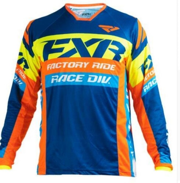 FXR Motocross Jersey Mountain Bike T-Shirt  3