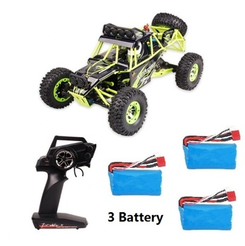 WLtoys 12428 RC Car 4WD 1/12 2.4G 50KM/H High Speed Monster Truck Remote Control Car RC Buggy Off-Road Updated Version VS A979-B
