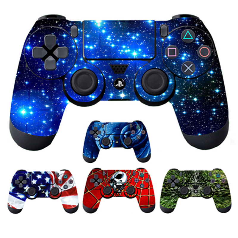 Vinyl Skin Stickers for PS4 Controller Anti-Slip Protector Skin Cover Decor For Sony Playstation 4 For PS4 Slim Pro Gamepad image